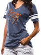 "Chicago Bears Women's Majestic NFL ""Game Tradition"" Tri-Blend T-shirt"