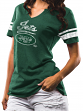 "New York Jets Women's Majestic NFL ""Game Tradition"" Tri-Blend T-shirt"