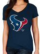 "Houston Texans Women's Majestic NFL ""Defiant Victory"" Short Sleeve T-shirt"