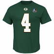 "Brett Favre Green Bay Packers Majestic NFL ""Eligible Receiver"" HOF Men's T-Shirt"
