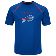 "Buffalo Bills Majestic NFL ""Fanfare 8"" Men's Short Sleeve Cool Base Shirt"