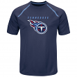 "Tennessee Titans Majestic NFL ""Fanfare 8"" Men's Short Sleeve Cool Base Shirt"