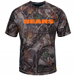"Chicago Bears Majestic NFL ""The Woods"" Men's Camo Short Sleeve T-Shirt"