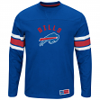 "Buffalo Bills Majestic NFL ""Powerful Hit"" Men's Long Sleeve Crew Shirt"