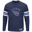 "Tennessee Titans Majestic NFL ""Powerful Hit"" Men's Long Sleeve Crew Shirt"