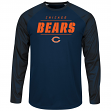 "Chicago Bears Majestic NFL ""League Rival"" Men's Cool Base L/S Shirt"