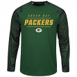 """Green Bay Packers Majestic NFL """"League Rival"""" Men's Cool Base L/S Shirt"""
