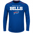 "Buffalo Bills Majestic NFL ""Fanfare IX"" Men's Cool Base L/S Shirt"