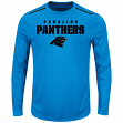 "Carolina Panthers Majestic NFL ""Fanfare IX"" Men's Cool Base L/S Shirt"