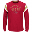 "San Francisco 49ers Majestic NFL ""Showcase Classic"" Men's Long Sleeve Crew Shirt"