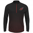 "Arizona Cardinals Majestic NFL ""Intimidating"" 1/2 Zip Mock Neck Pullover Shirt"