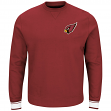 "Arizona Cardinals Majestic NFL ""Classic"" Men's Pullover Crew Sweatshirt"