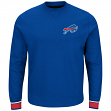 "Buffalo Bills Majestic NFL ""Classic"" Men's Pullover Crew Sweatshirt"
