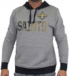 "New Orleans Saints Majestic NFL ""Gameday"" Men's Pullover Hooded Sweatshirt"