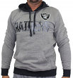 "Oakland Raiders Majestic NFL ""Gameday"" Men's Pullover Hooded Sweatshirt"