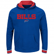 "Buffalo Bills Majestic NFL ""Championship"" Men's Pullover Hooded Sweatshirt"