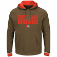 "Cleveland Browns Majestic NFL ""Championship"" Men's Pullover Hooded Sweatshirt"