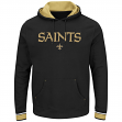 "New Orleans Saints Majestic NFL ""Championship"" Men's Pullover Hooded Sweatshirt"