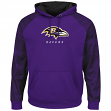 "Baltimore Ravens Majestic NFL ""Armor 2"" Men's Pullover Hooded Sweatshirt"