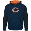 "Chicago Bears Majestic NFL ""Armor 2"" Men's Pullover Hooded Sweatshirt"