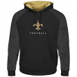 "New Orleans Saints Majestic NFL ""Armor 2"" Men's Pullover Hooded Sweatshirt"
