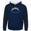 "San Diego Chargers Majestic NFL ""Armor 2"" Men's Pullover Hooded Sweatshirt"