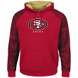 "San Francisco 49ers Majestic NFL ""Armor 2"" Men's Pullover Hooded Sweatshirt"