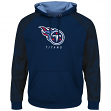"""Tennessee Titans Majestic NFL """"Armor 2"""" Men's Pullover Hooded Sweatshirt"""
