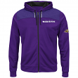 "Baltimore Ravens Majestic NFL ""Game Elite"" Men's Full Zip Hooded Sweatshirt"