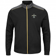 "New Orleans Saints Majestic NFL ""Team Tech"" Men's Full Zip Jacket Sweatshirt"