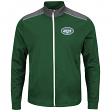 "New York Jets Majestic NFL ""Team Tech"" Men's Full Zip Jacket Sweatshirt"