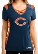 "Chicago Bears Women's Majestic NFL ""Draft Me 2"" Jersey Top Shirt"