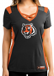 "Cincinnati Bengals Women's Majestic NFL ""Draft Me 2"" Jersey Top Shirt"