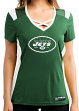 "New York Jets Women's Majestic NFL ""Draft Me 2"" Jersey Top Shirt"