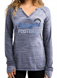 "San Diego Chargers Women's Majestic NFL ""Lead Play 2"" Long Sleeve Shirt"