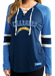 "San Diego Chargers Women's Majestic NFL ""Winning Style"" Long Sleeve Shirt"