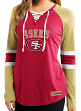 "San Francisco 49ers Women's Majestic NFL ""Winning Style"" Long Sleeve Shirt"