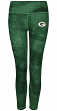 "Green Bay Packers Women's Majestic NFL ""Dynamic Effort"" Leggings Yoga Pants"