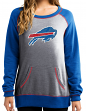 "Buffalo Bills Women's Majestic NFL ""O.T. Queen"" French Terry Sweatshirt"
