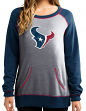 "Houston Texans Women's Majestic NFL ""O.T. Queen"" French Terry Sweatshirt"