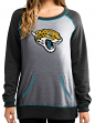 "Jacksonville Jaguars Women's Majestic NFL ""O.T. Queen"" French Terry Sweatshirt"