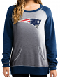 "New England Patriots Women's Majestic NFL ""O.T. Queen"" French Terry Sweatshirt"