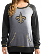 """New Orleans Saints Women's Majestic NFL """"O.T. Queen"""" French Terry Sweatshirt"""
