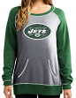 "New York Jets Women's Majestic NFL ""O.T. Queen"" French Terry Sweatshirt"