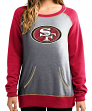 "San Francisco 49ers Women's Majestic NFL ""O.T. Queen"" French Terry Sweatshirt"