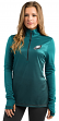 """Philadelphia Eagles Women's Majestic NFL """"Play"""" 1/2 Zip Synthetic Pullover Shirt"""