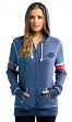 "Buffalo Bills Women's Majestic NFL ""Athletic"" Full Zip Hooded Sweatshirt"