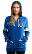 "Indianapolis Colts Women's Majestic NFL ""Athletic"" Full Zip Hooded Sweatshirt"