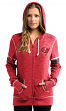 "Tampa Bay Buccaneers Women's Majestic NFL ""Athletic"" Full Zip Hooded Sweatshirt"