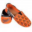 Baltimore Orioles Women's MLB Slip On Canvas Stripe Shoe Slippers